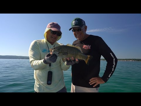 Grand Traverse Bay Small Mouth - On The Water Report - Presented By Polar Kraft