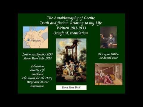 Johann Goethe on his early life 1755
