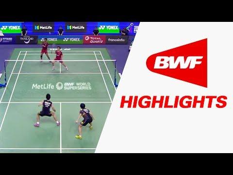 Yonex French Open 2017 | Badminton F – Highlights