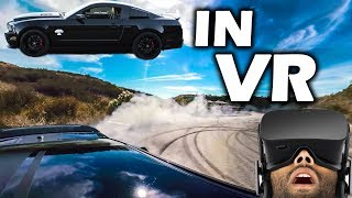 VR: Doing DONUTS in a 1,000HP SHELBY MUSTANG! thumbnail