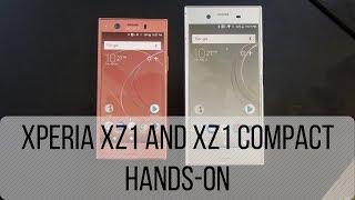 Sony XZ1 and Compact Hands-On