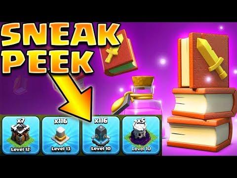 SNEAK PEEKS ARE BEGINNING! - HUGE Clash of Clans Update is Coming Soon!   CoC Sneak Peek #1