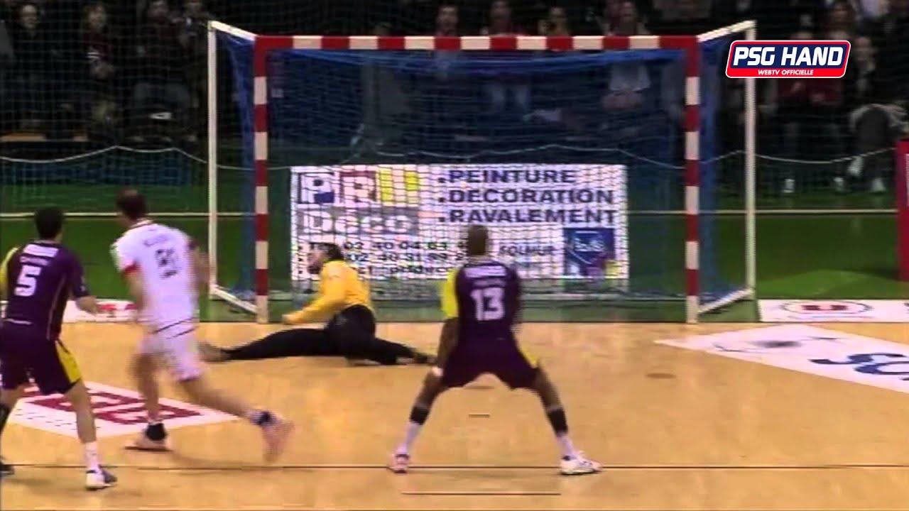 r u00e9sum u00e9 du match nantes - psg handball