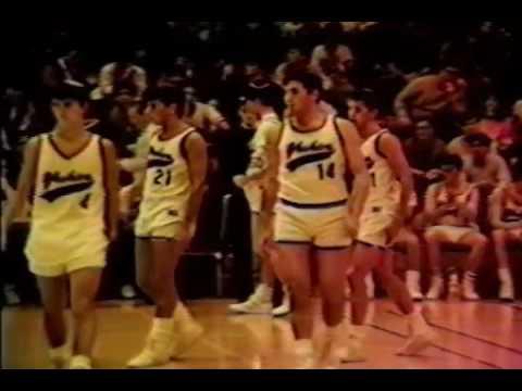 MTA Ramaz Semifinals 1987