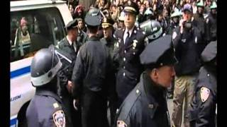 police captain Ray Lewis arrested wall street