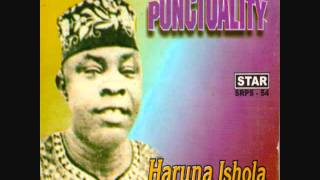 HARUNA ISHOLA (M.O.N.)  - Punctuality
