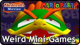 Mario Party 1 - All Weird Mini-Games (2 Players)