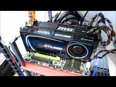 SLI Using Dual PCIe 16x vs 8x - How Much Bandwidth is Needed? Linus Tech Tips