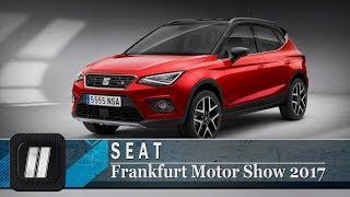 Компактный кроссовер SEAT Arona.  Frankfurt Motor Show 2017.