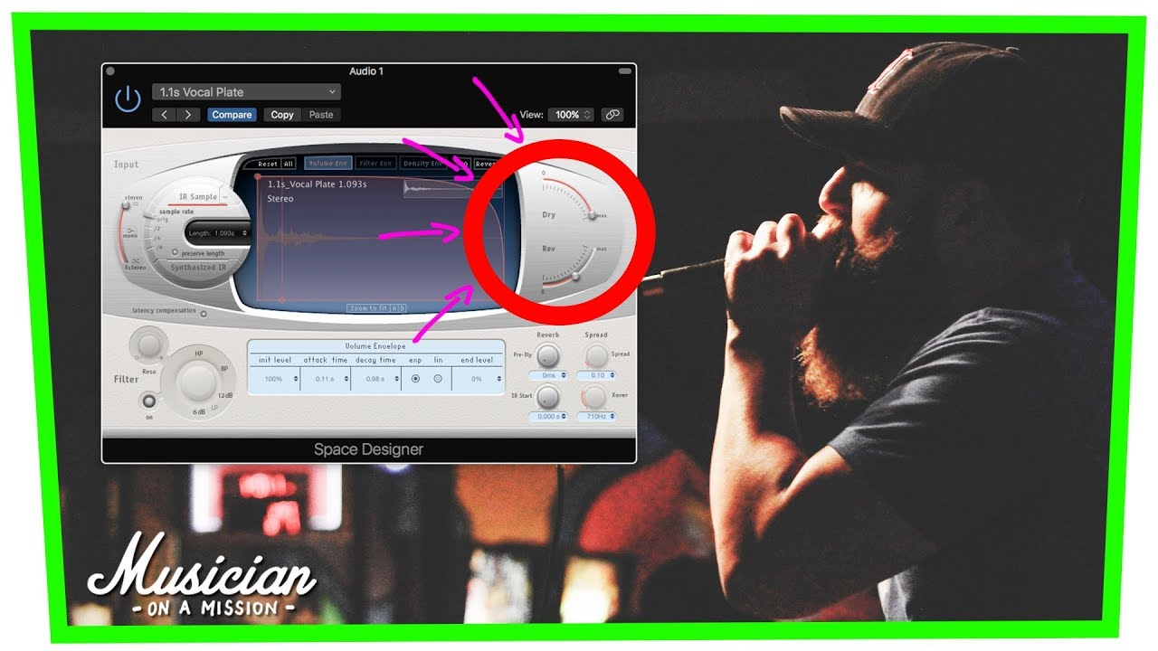 The Plate Reverb Trick for Loud, Clear Vocals (Fast)   musicianonamission.com - Mix School #36