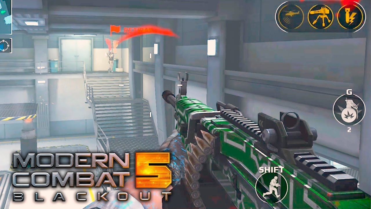 MODERN COMBAT 5: Blackout  - JOGO GRÁTIS PC, ANDROID E IPHONE