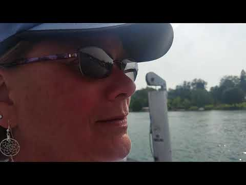 Ironton MI Cable Ferry Lake Charlevoix - Part 1