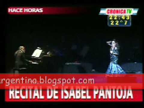 Isabel Pantoja, Gran Rex. Argentina, pensando en ti. 15-02-09