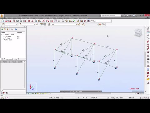Exercise 6 - Part 1 - 3D Steel Structure with Steel Connections