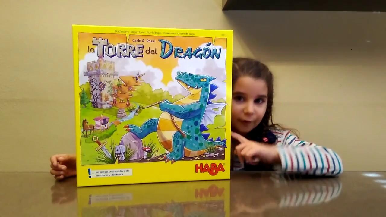 La Torre Del Dragon Haba Juegos De Mesa Infantiles Youtube