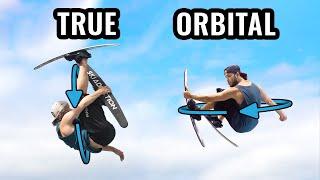 True Vs. Orbital Flat 360 On Skis