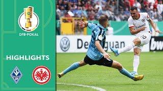 Waldhof Mannheim - Eintracht Frankfurt 3:5 | Highlights | DFB-Pokal 2019/20 | 1. Runde