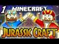 """Minecraft: Jurassic Craft Multiplayer - Ep 1 - """"A Fresh Start!"""" (Minecraft Dinosaur Mod)"""