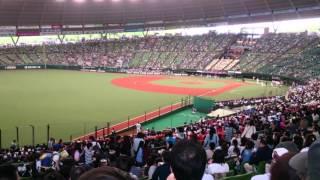 西武ライオンズ 2016年4月23日 初球式 プロレスラー 棚橋 弘至.