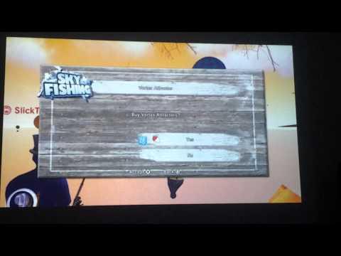 Aurora Sky Fishing (Part 1) Playstation 3 Home PS3 PSN