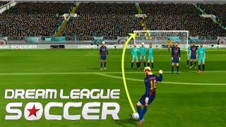 Los mejores goles de tiro libre en Dream League Soccer