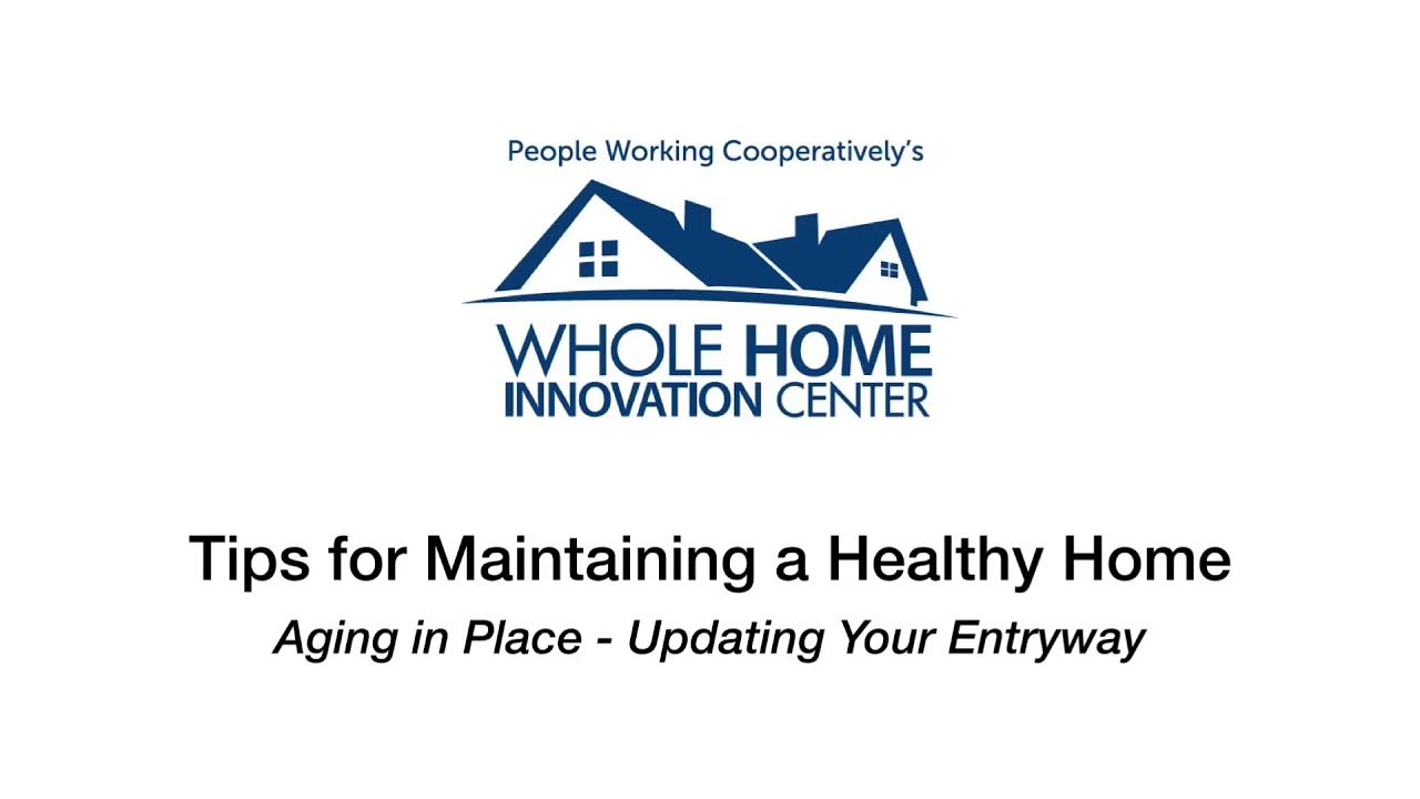 Whole Home Wednesday: Aging in Place- Entryway