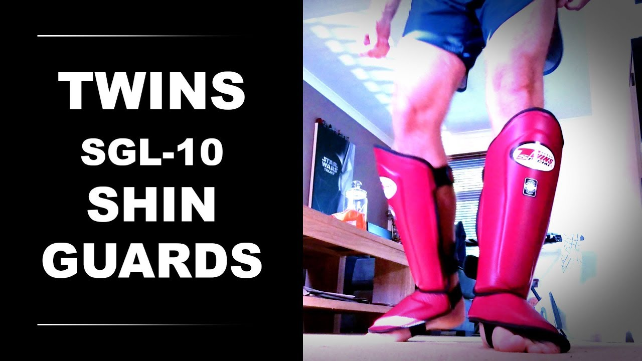 Top King Shin Guards Black Leather Shin Protection 23 L
