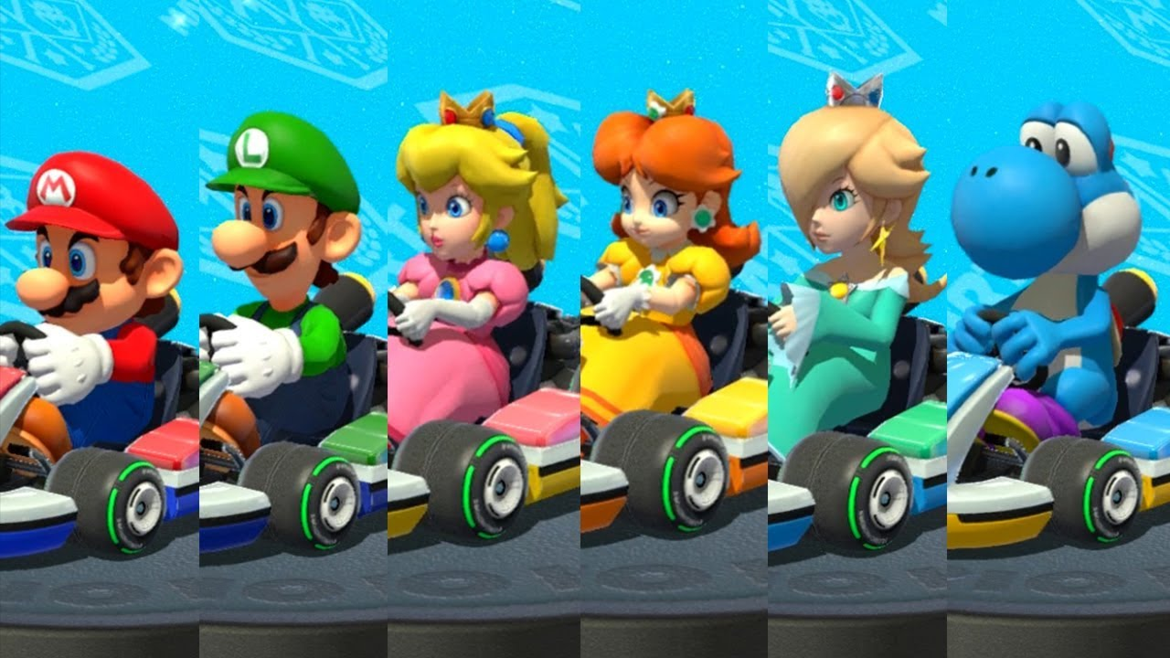 Mario Kart 8 Deluxe - All Battle Minigames