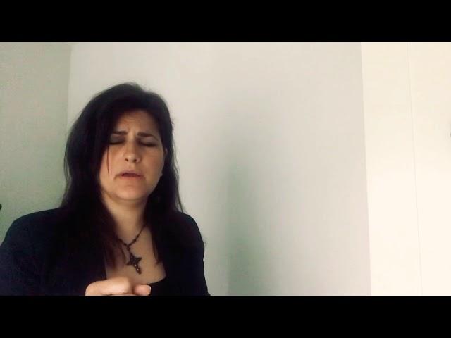 Saeta | Lucía Leiva al Nazareno Castro del Río 2020