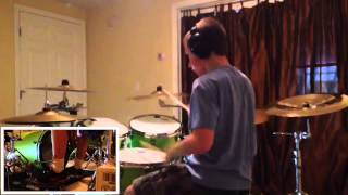 Tyler Briggs - The Word Alive - glass castle - drum cover