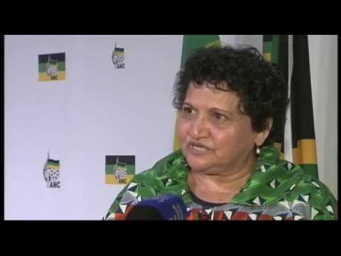 Jessie Duarte reacts to cabinet reshuffle