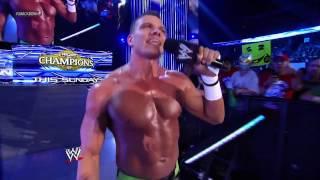 WWE Smackdown 09/14/12; Aksana, Antonio Cesaro, Tyson Kidd, &  Brodus Clay Segment