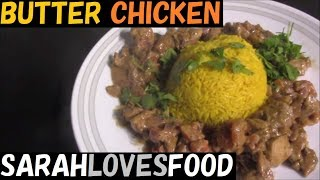Butter Chicken with Turmeric Rice | Easy, Mild Indian Curry