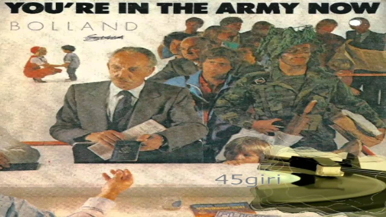 U re in the army now