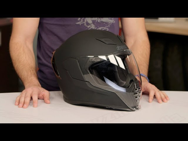 ICON Airflite Helmet Review at RevZilla.com