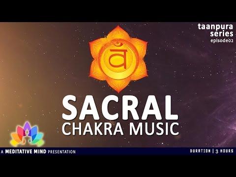 Sacral Chakra Healing Meditation Music | Taanpura Series | M16CS3T2