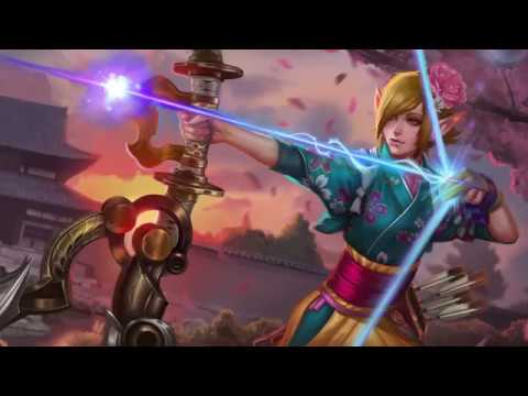 Kyūdō Kestrel Skin Reveal
