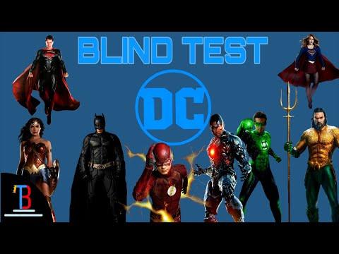 BLIND TEST DC COMICS DE 20 EXTRAITS (AVEC RÉPONSES)