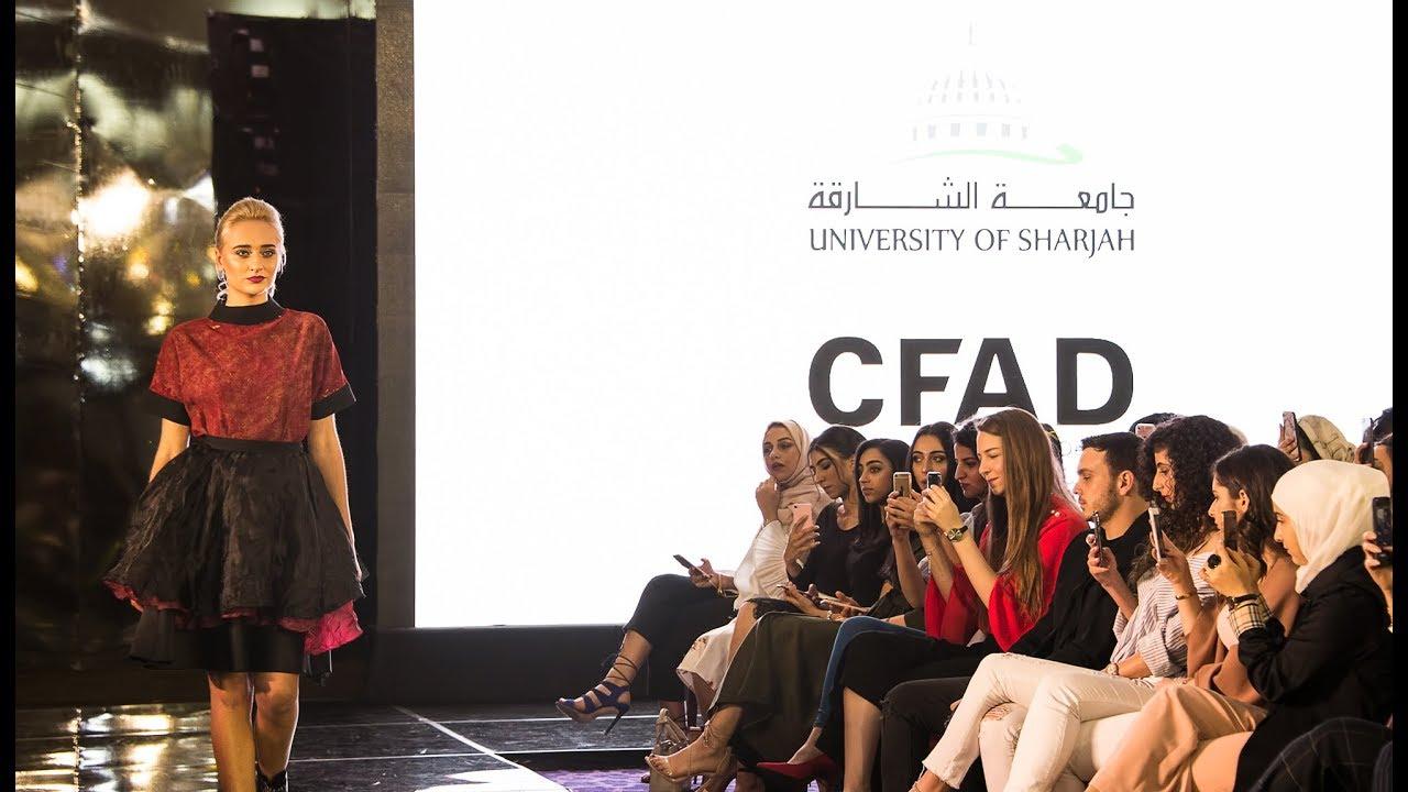 University Of Sharjah College Of Fine Arts Design Dubai Fashion Week Youtube