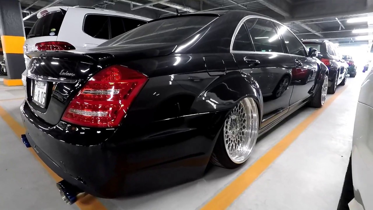 Modified mercedes benz s500 at japanese jdm car auction for Mercedes benz car auctions