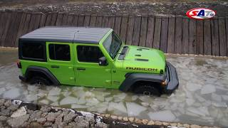 Jeep Wrangler - Test on track NAVAK by SAT TV Show