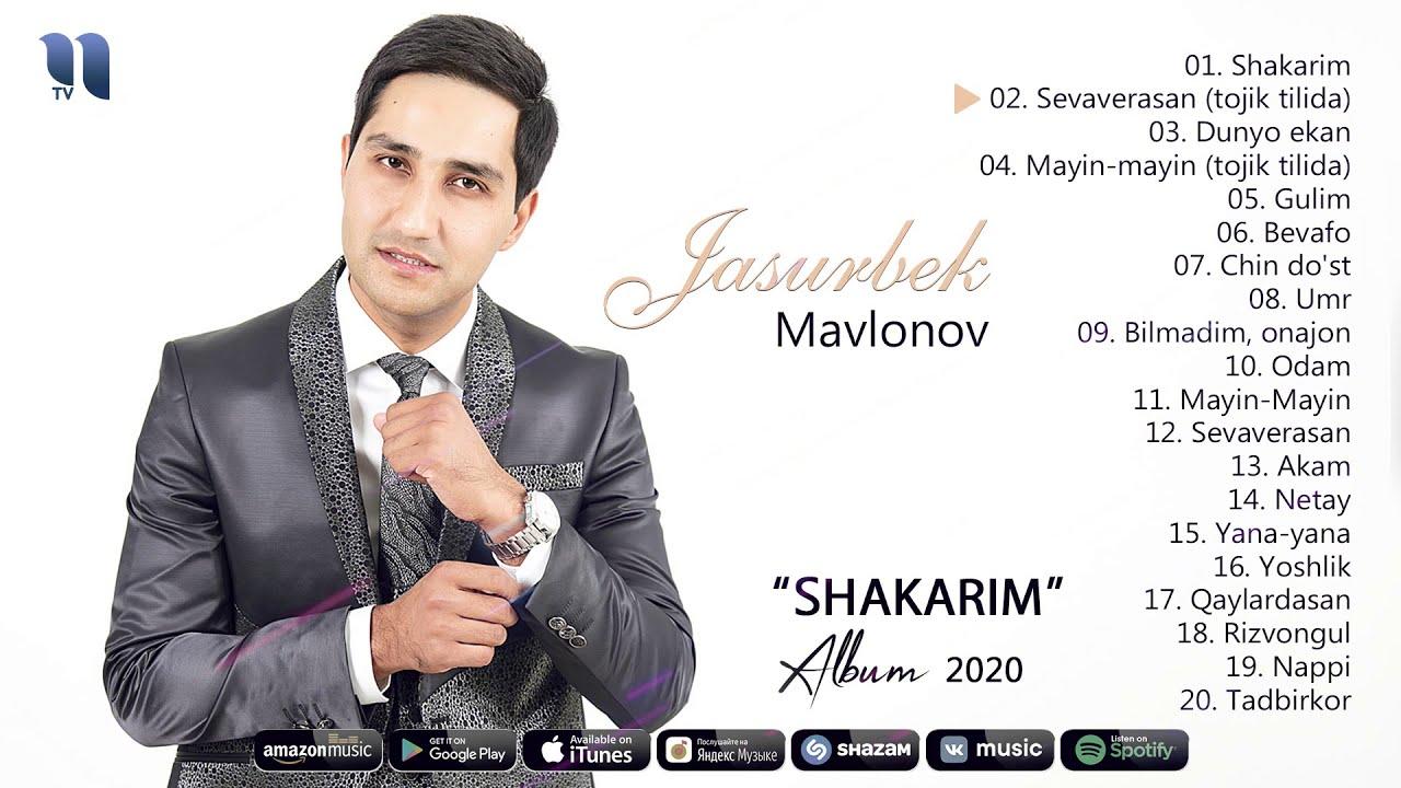 Jasurbek Mavlonov - Shakarim nomli albom dasturi 2020 онлайн томоша килиш