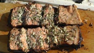 Копчение семги от КУМА. Копчение рыбы.(Копчение рыбы. Оригинальный рецепт копчения семги от КУМА. Получилось отлично. Жаль, что видео не передает..., 2013-06-18T18:16:07.000Z)