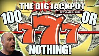 💸100 or NOTHING! SURPRISE HIT! 💥BONUS BLACK WIDOW JACKPOT 🕷️