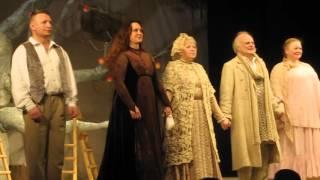 """""""Касатка"""" - спектакль Молодежного театра на Фонтанке. Поклоны."""
