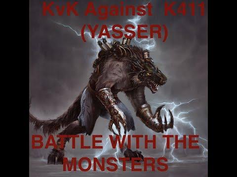 Clash Of Kings : KvK 411 - BATTLE WITH THE MONSTER (YASSER)