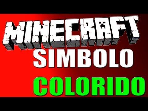 Photoshop CC - Simbolo do minecraft colorido