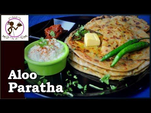 Aloo Paratha Recipe - দুই ধরণের পুর সহ | Dhaba Style Aloo Paratha Recipe
