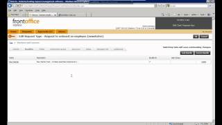 Front Office for Symantec 7.3: Editing the service catalogue