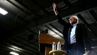 """Clinton begins to """"feel the Bern"""" in Wisconsin, New York"""